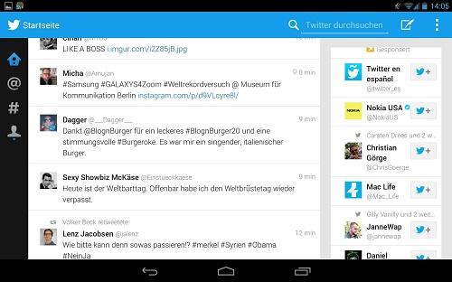 Twitter para Android - Gratis