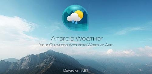 Android Tiempo & Reloj Widget