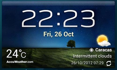 Widget tiempo reloj descargar para android for Widget tiempo android