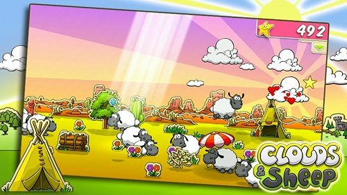 clouds sheep android